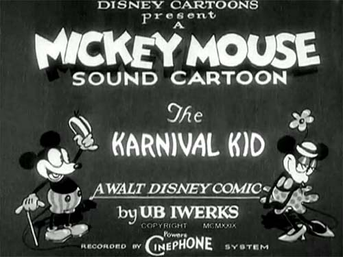 The Karnival Kid Title Card