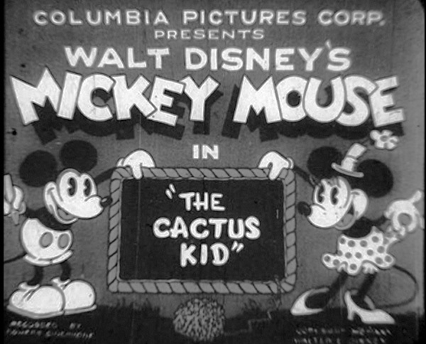 The Cactus Kid Original Title Card