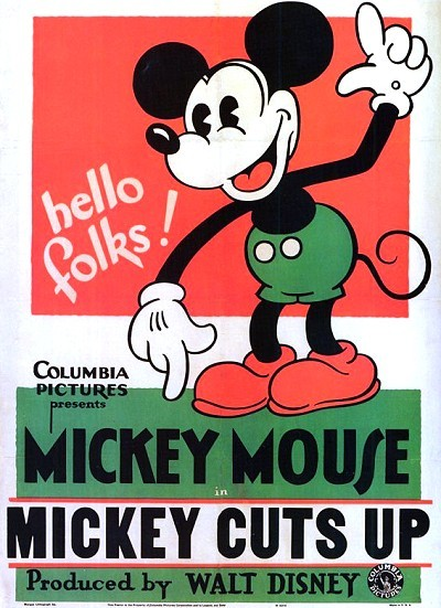 Mickey Cuts Up Original Release Poster