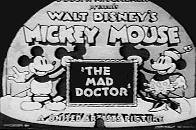 The Mad Doctor Title Card
