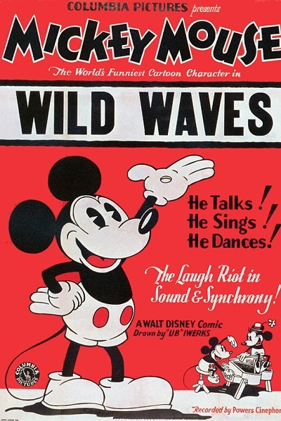 Wild Waves Original Release Poster