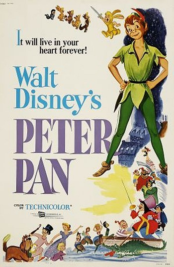 Peter Pan Original Release Poster