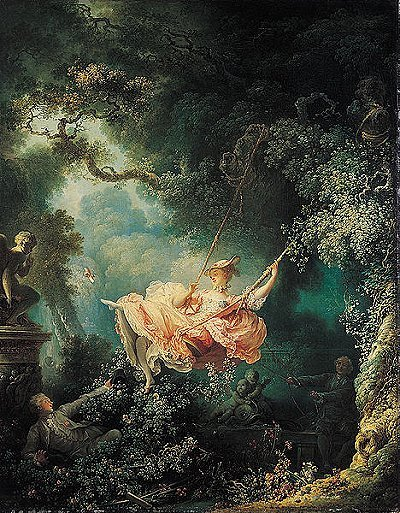Inspiration Art; The Swing by Jean-Honore Fragonard