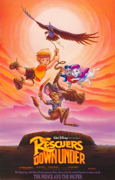 The Rescuers Down Under Original Release Poster Style A