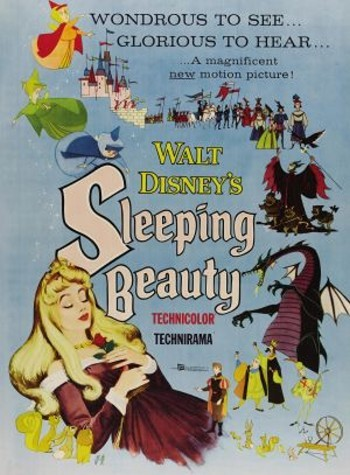 Sleeping Beauty Original Release Poster