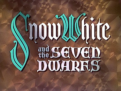 <i>Snow White And The Seven Dwarfs</i> Title Card