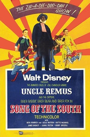 Song Of The South Original Release Poster