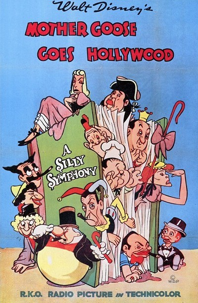Mother Goose Goes Hollywood Original Release Poster