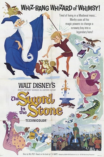 The Sword In The Stone Original Release Poster