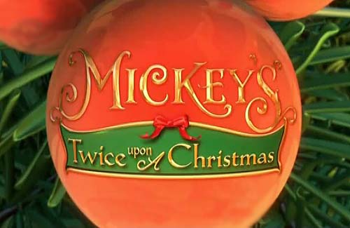 mickeys twice upon a christmas title card - Mickeys Twice Upon A Christmas
