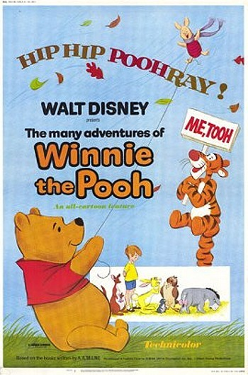 The Many Adventures Of Winnie The Pooh Original Release Poster
