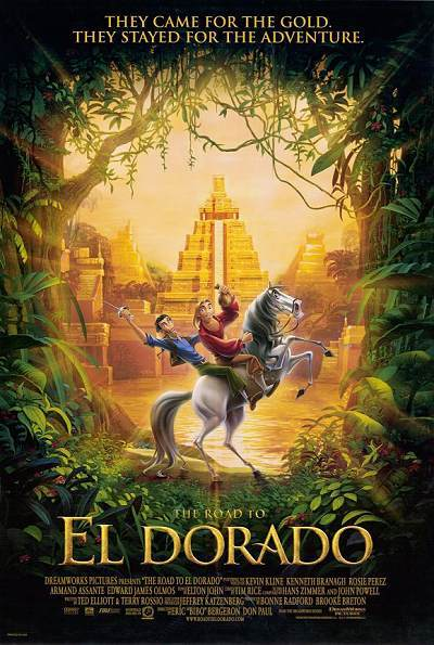 The Road To El Dorado Original Release Poster