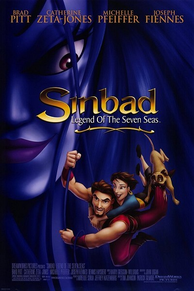 Sinbad: Legend Of The Seven Seas Original Release Poster