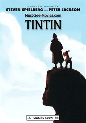 The Adventures Of Tintin: Secret Of The Unicorn Teaser Poster
