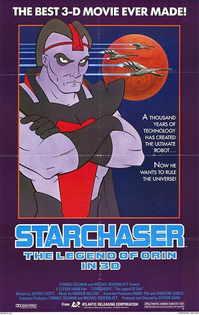 Starchaser: The Legend Of Orin Original Release Poster