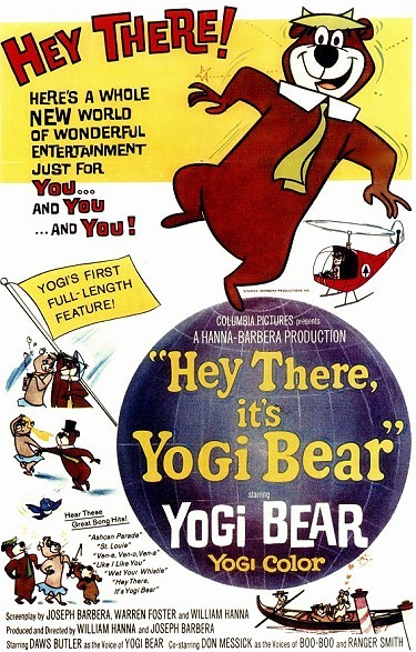 Hey There, It's Yogi Bear Original Release Poster