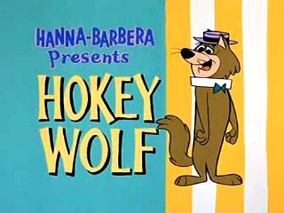 Hokey Wolf Television Series Title Card