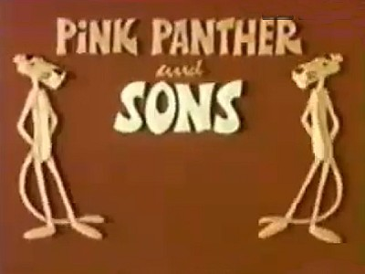 Pink Panther and Sons Television Series Title Card