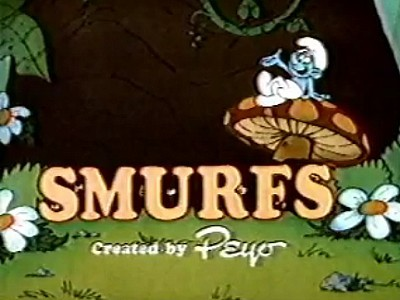 Smurfs Television Series Title Card