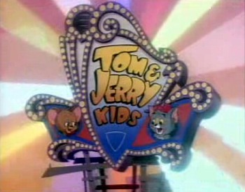 Tom & Jerry Kids Television Series Title Card