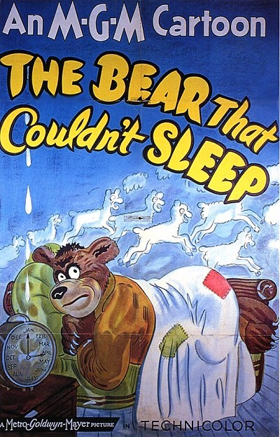 The Bear That Couldn't Sleep Original Release Poster