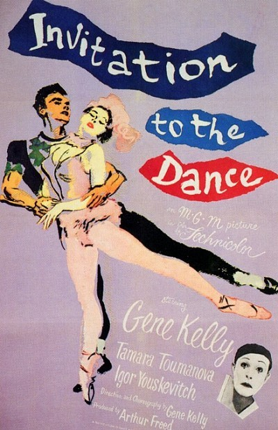Invitation To The Dance Original Release Poster
