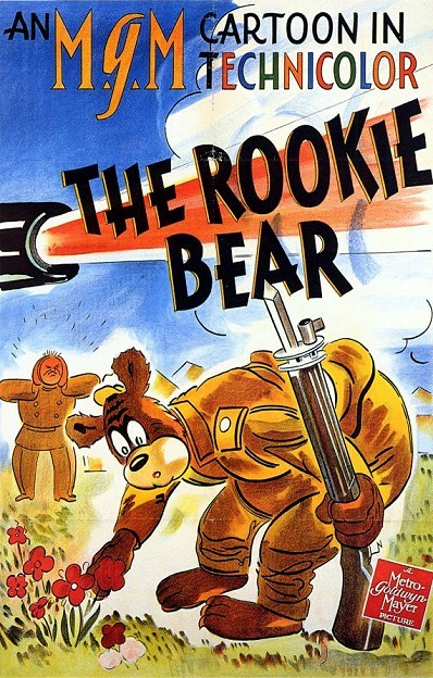 The Rookie Bear Original Release Poster