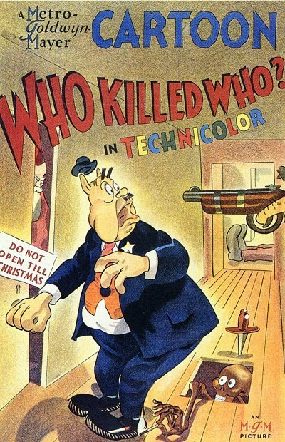 Who Killed Who? Original Release Poster