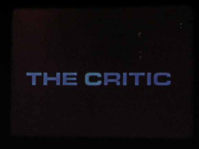 The Critic Title Card