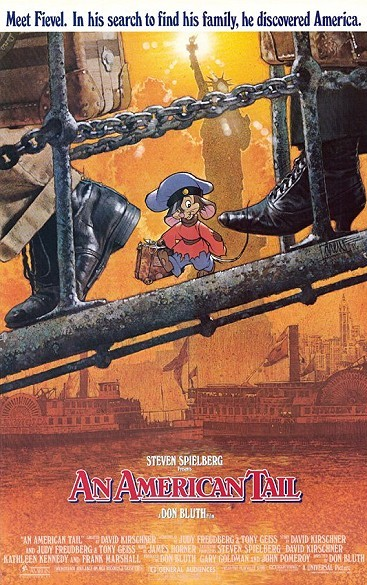 An American Tail Original Release Poster