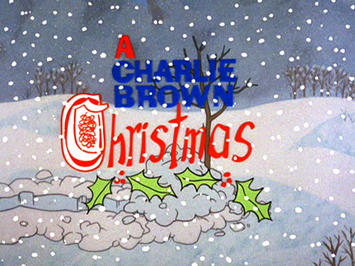 A Charlie Brown Christmas Title Card