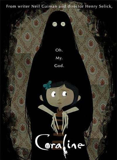 Coraline 2009 Feature Length Theatrical Animated Film