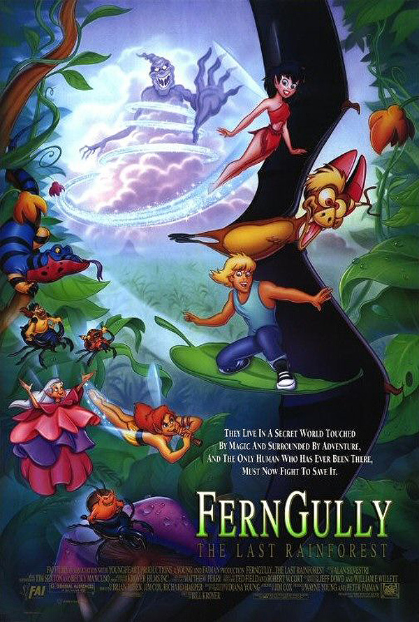 FernGully: The Last Rainforest Release Poster