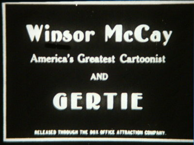 Gertie Title Card