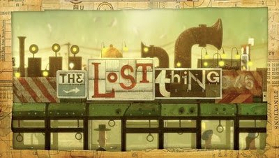The Lost Thing Title Card