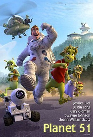 Planet 51 Pre-Release Poster