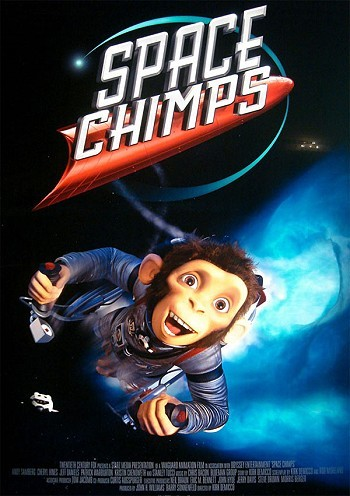 Space Chimps Pre-Release Poster