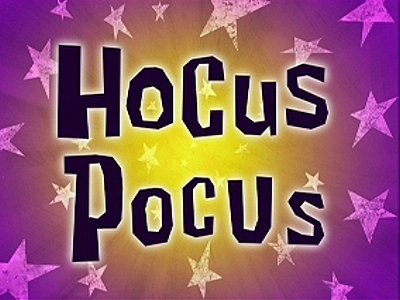 Hocus Pocus Cartoon