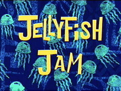 Jellyfish Jam Television Episode Title Card
