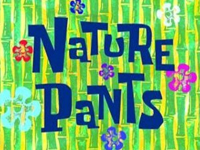 Nature Pants Television Episode Title Card