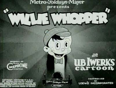Willie Whopper Series Title Card