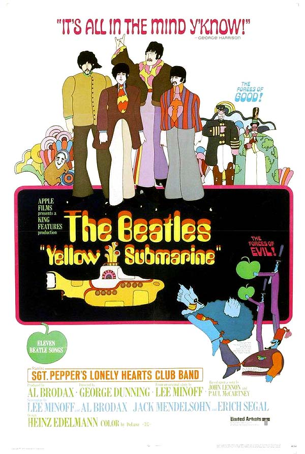 Yellow Submarine Original Release Poster