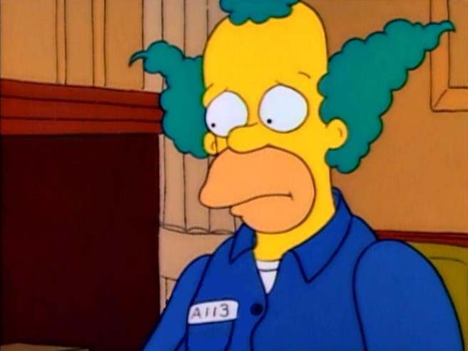 Krusty Gets Busted Hidden A-113 In Episode