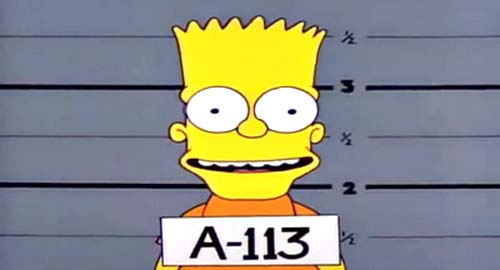 Do The Bartman Hidden A-113 In Episode