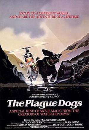 'The Plague Dogs' Poster