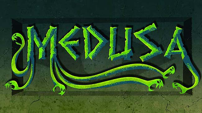 'Medusa' Title Treatment