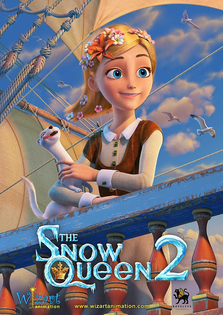 Snezhnaya Koroleva II Snow King Poster