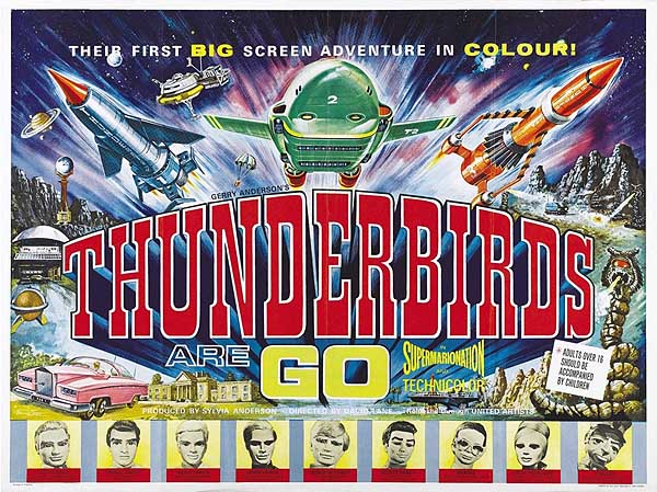 Thunderbirds Are Go (1966) Feature Length Theatrical
