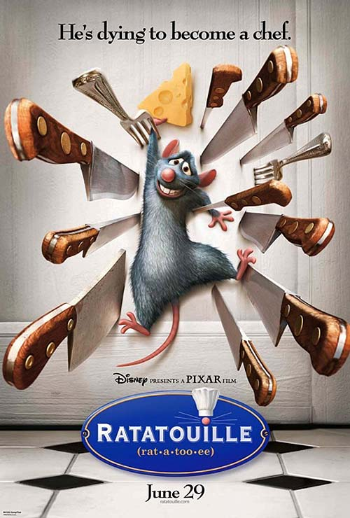 Ratatouille Advance Poster