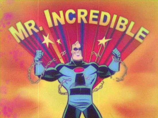 'Mr. Incredible And Pals' Title Card